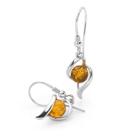Amber Celeste Earrings