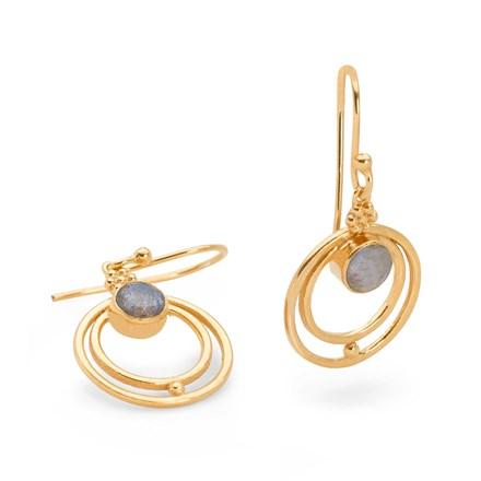 Persian Moon Earrings