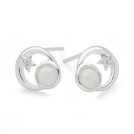 Opal Eclipse Studs