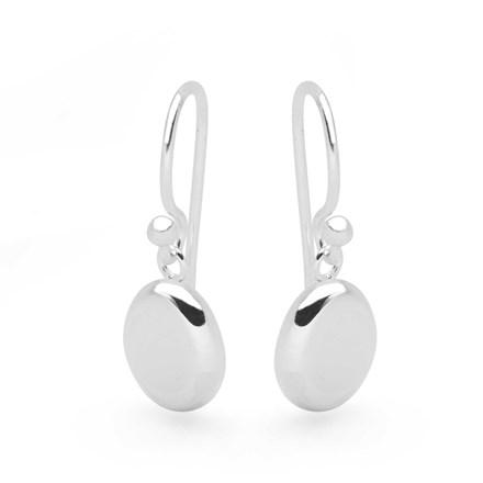 Silver Seed Earrings