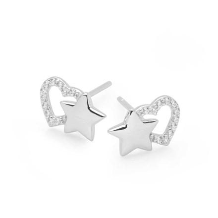 Starry Love Studs