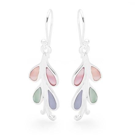 Rainbow Fern Earrings