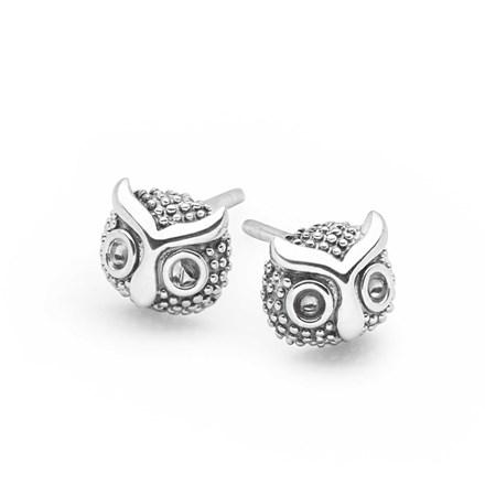 Owl Moon Studs