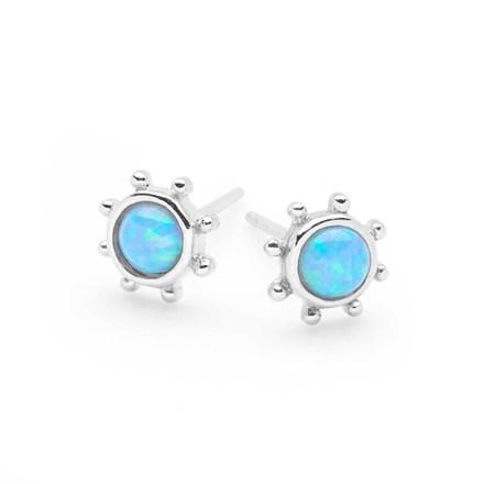 Opal Islands Studs