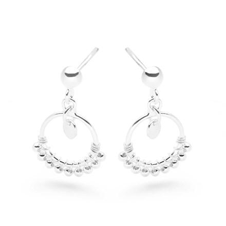 Silver Dew Earrings