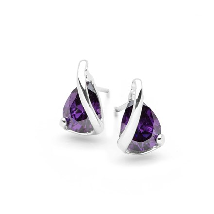 Amethyst Dreams Studs