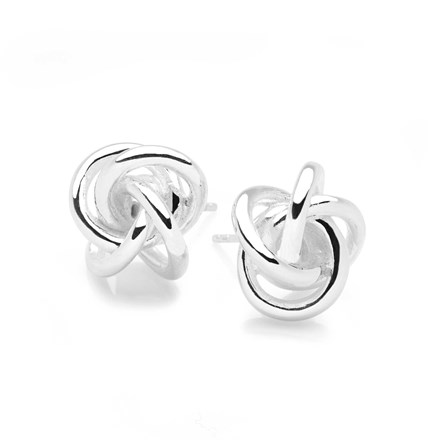 Forever Knot Studs
