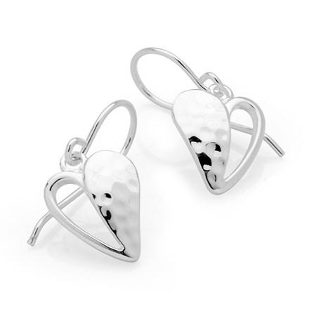 Signature Heart Earrings