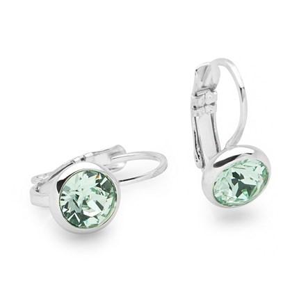 Emerald Water Earrings