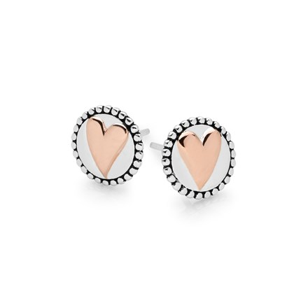 Love is Gold Studs