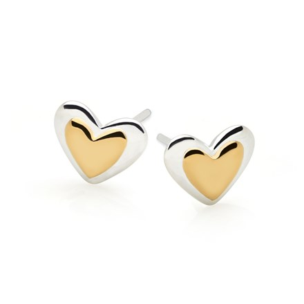 Love In Gold Studs