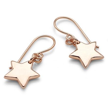 Rose Starfall Earrings