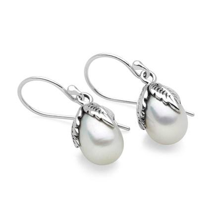 Pearl Flourish Earrings