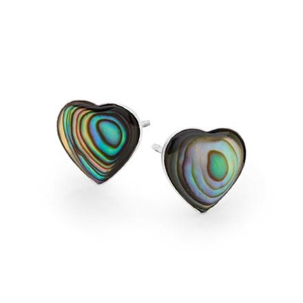 Gaia Heart Studs