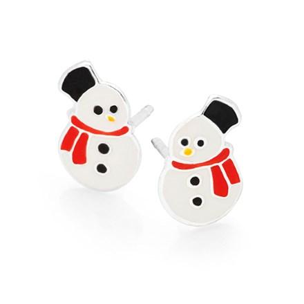 Mini Snowman Studs