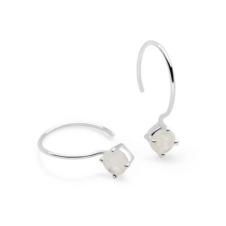 Moonstone Aura Earrings