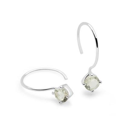 Amethyst Aura Earrings