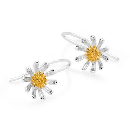Daisy Charm Earrings