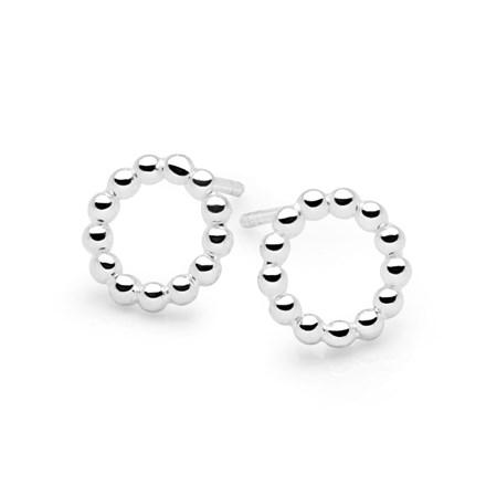 Boule Halo Earrings