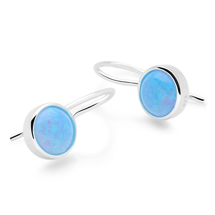 Opal Mirror Earrings