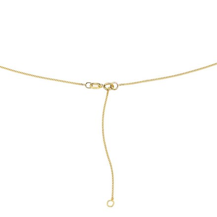Gold Curb Chain 9ct (extender 41-46cm)