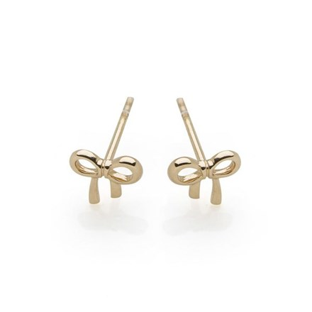 Ditsy Bow Studs (9ct Gold)