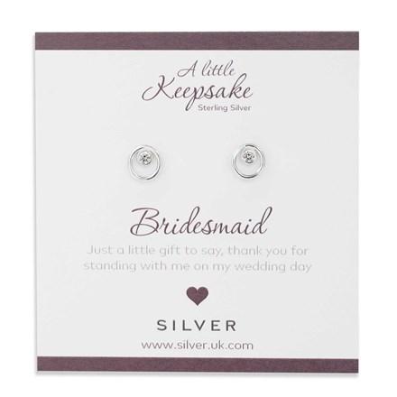 Sparkling Bridesmaid Earrings