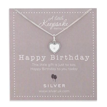 Shining Birthday Keepsake