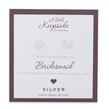 Etched Bridesmaid Keepsake