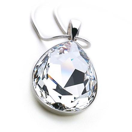 Diamond Tears Pendant