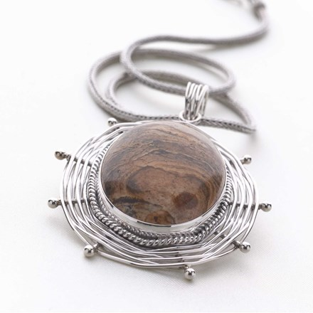 Artisan-Crafted Pendant