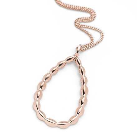 Grecian Garland Pendant (Rose Gold)