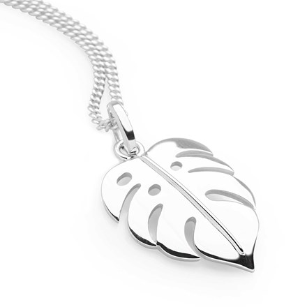 Tropical Leaf Pendant