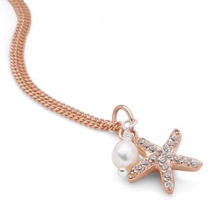 Sunset Starfish Pendant