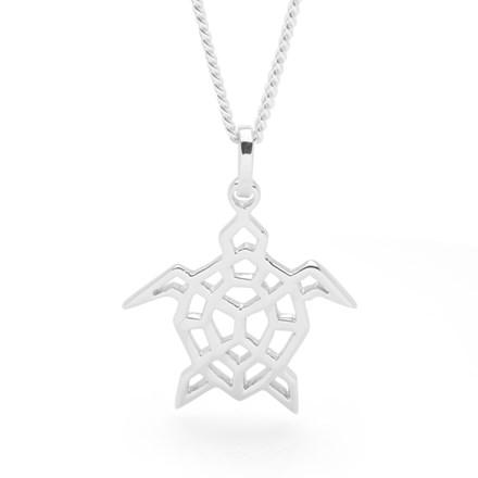Turtle Origami Pendant