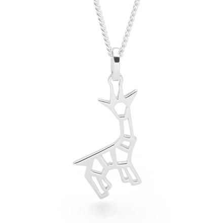 Giraffe Origami Pendant