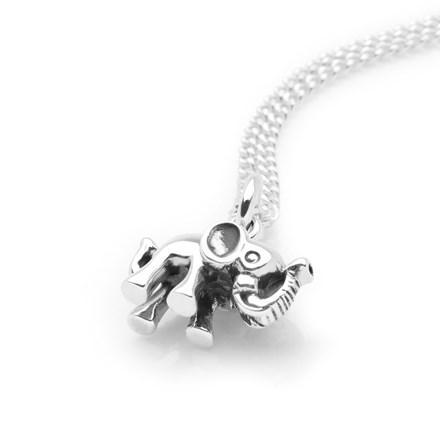Charming Elephant Pendant