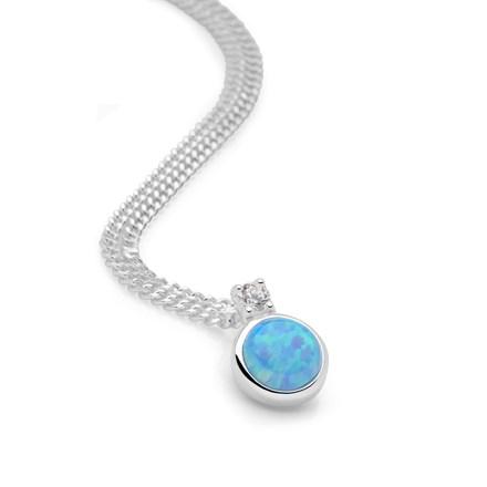 Opal Sparkle Pendant