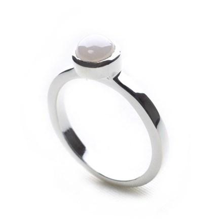 Milkshake Stack Ring (white)