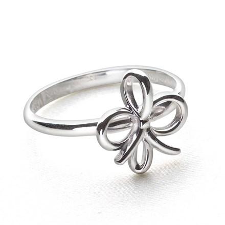 Silver Tie Ring