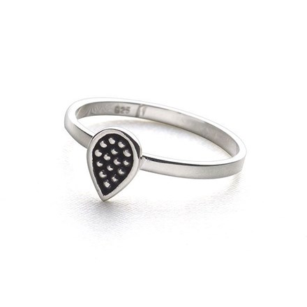 Flame Dot Ring