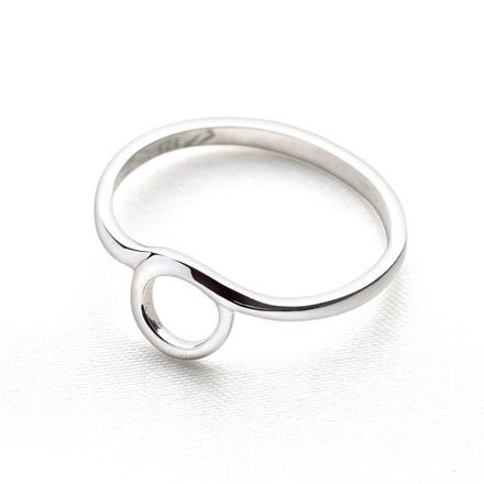 Mini Hoop Ring