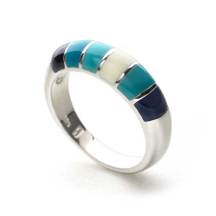 Monet Bleu Ring