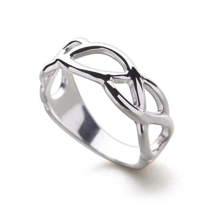 Woven Light Ring