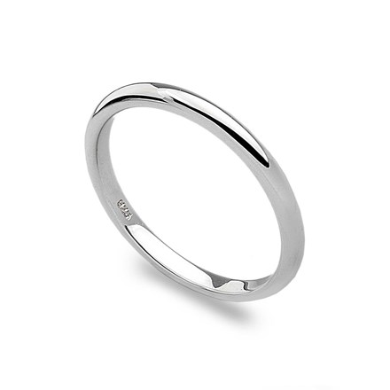 D-Shaped Stack Ring