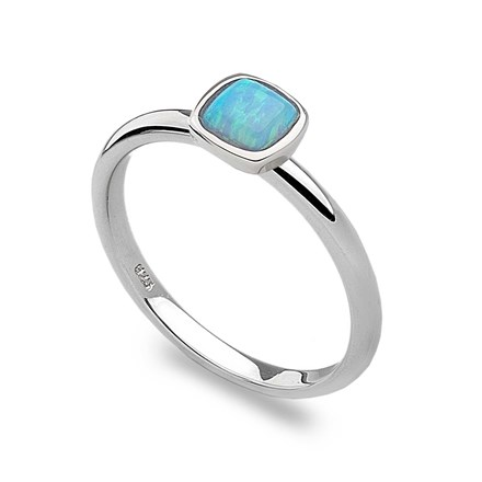 Blue Opalite Stack Ring