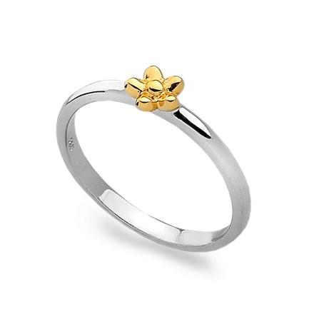 Golden Daisy Stack Ring