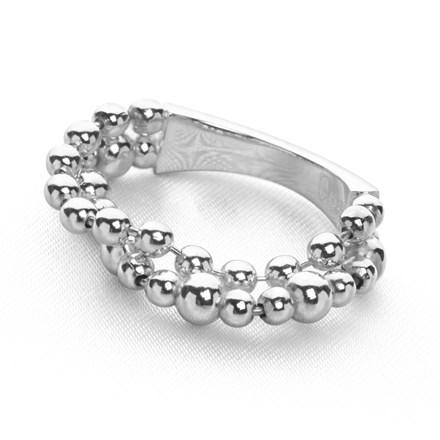 Beaded Bright Ring