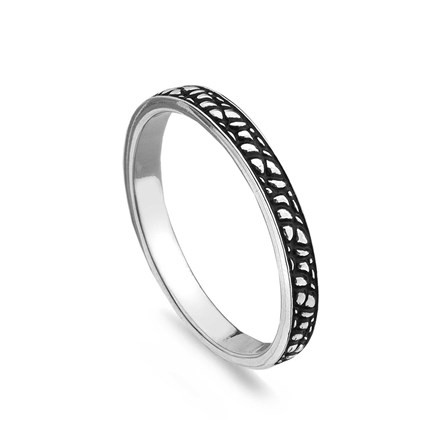 Pebble Stack Ring