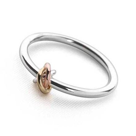 Tri-Ribbon Ring